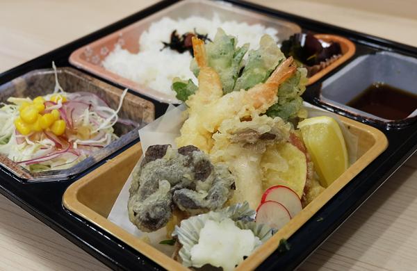 えびと野菜の天ぷら弁当